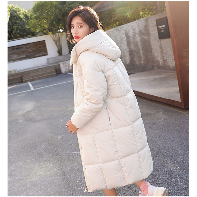 winter jacket women casual winter hoodies Coat women black long Korean women   Parka   casaco feminino jaqueta feminina Overcoat