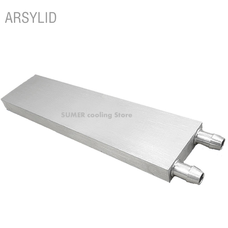 Aluminum CPU Radiator 40*40*12mm 80 120 160 200mm Water Cooling Waterblock Heatsink Block Liquid Cooler For CPU GPU PC Laptop