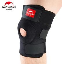NatureHike Knee Pad Sports Safety Guard Strap Training Elastic Knee Support Brace Kneepad Adjustable Patella Hole Kneepad недорого
