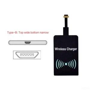 Image 5 - ユニバーサル受信機アダプタパッドスマート受容体チップモジュールチー標準ワイヤレス充電器トランスミッタパッチ iphone 6 6S 7 プラス