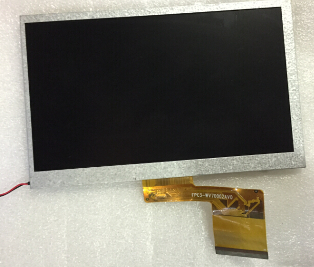 7 inch LCD screen original cable number: FPC3-WV70002AV0
