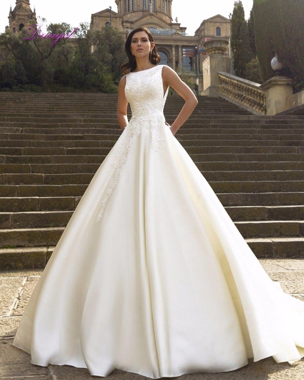 √Melice magnífico Appliques robe de mariage vestido de boda ...