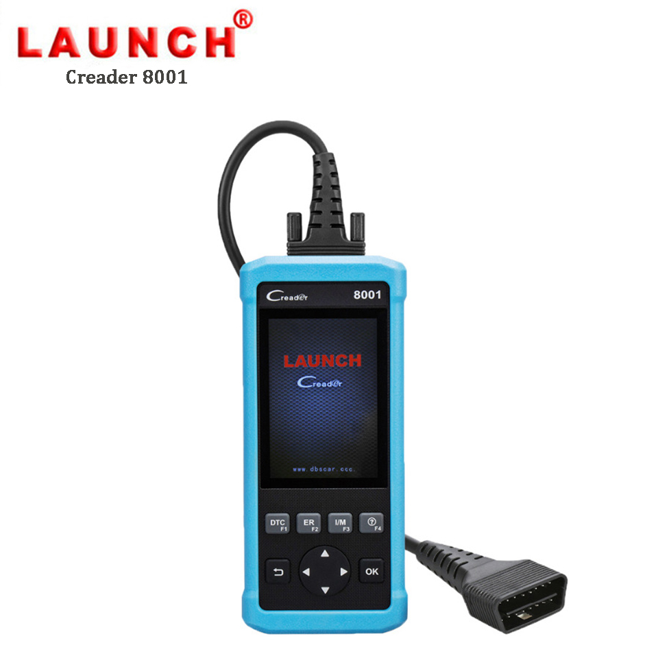 Launch Creader 8001 Professional Automotive Code Reader OBD2 EOB CAN Auto Scanner Diagnostic Tool for ABS SRS Oil Reset EPB obd2 scanner launch creader 8001 car code reader full obdii eobd auto diagnostic scanner tool with abs srs epb oil service
