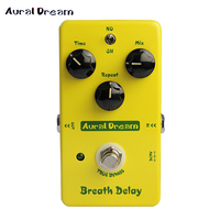 Aural Dream Warm Drive Breath Delay Pedal Electric Guitar Effect Pedal Smart Single Effect With True