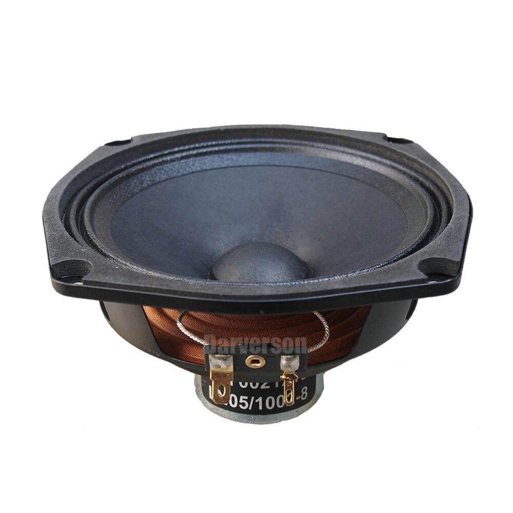 HIFI 5.25 pouces aimant preuve gamme complète haut-parleur SRM150 tweeter woofer voiture maison audio bricolage aigus basse pilote unité 8 ohms