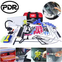 PDR Tool Set Hook Rods Tools Paintless Dent Repair Auto Tools Set Automobile Body Repair Car Door Dents Repair Updated Quality