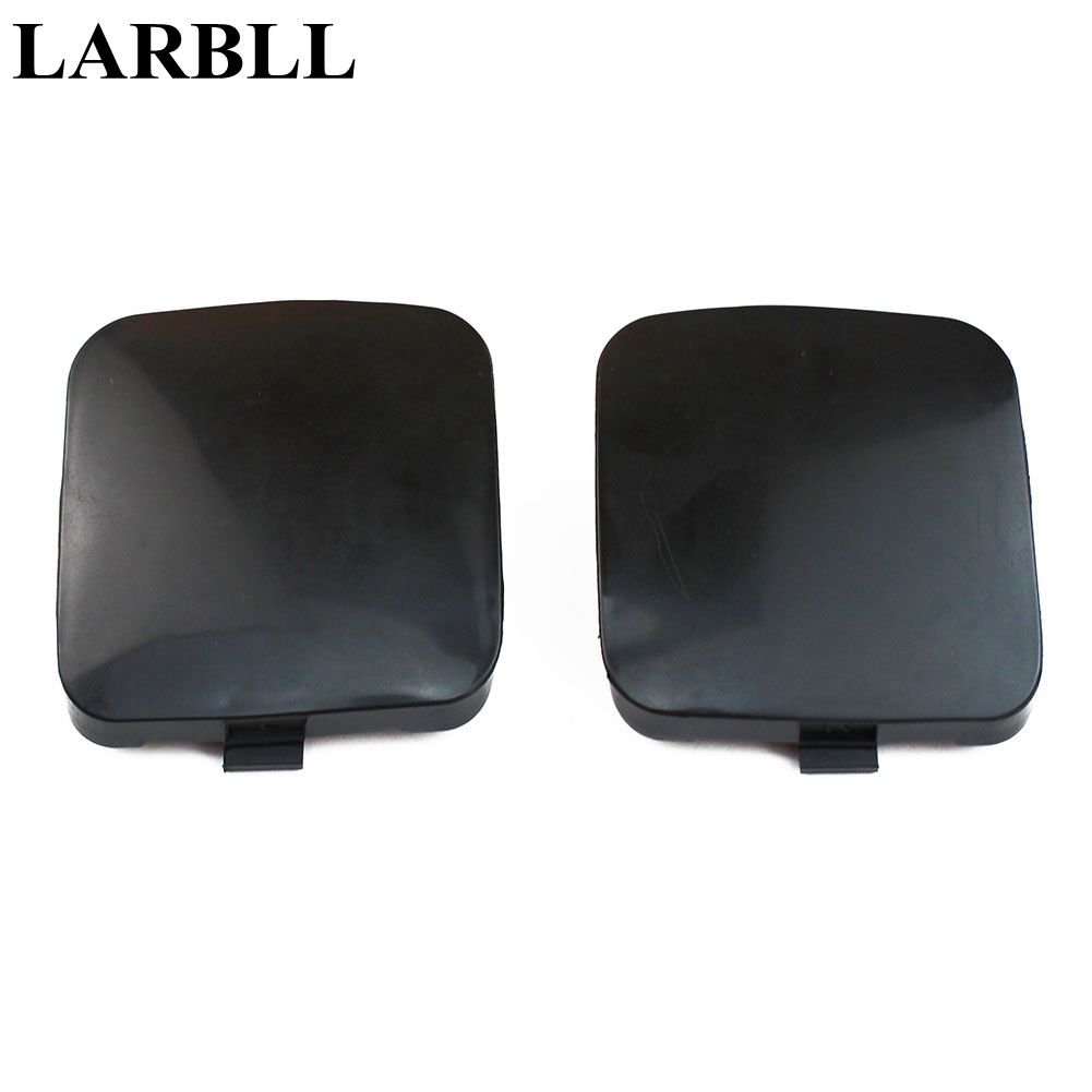 LARBLL New  Front bumper trailer tow hook eye covers caps for Toyota RAV4 2009-2012