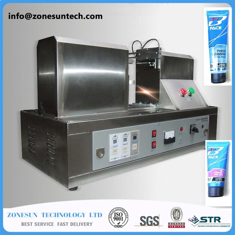 Plastic tube sealing machinery ultrasonic soft hose sealer