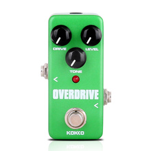 KOKKO Mini Overdrive Guitar Pedal Portable Electric Guitar Effect Pedal For Musical Instrument Ukulele Parts Accessories FOD3 kokko kw 1 guitarra pedal high quality guitar accessories vol wah guitar pedal for guitar lovers