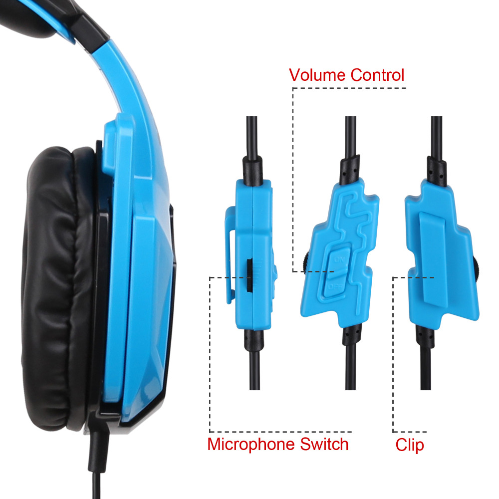 SADES SA920 3 in 1 Gaming Headset 7.1 Surround Sound 3.5MM Olug ...