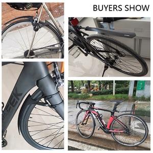 Image 4 - RBRL 2 PCS Road Bike Set Mudguard For Bicycle 700c Bike Wings Mud Guard Front/Rear Fenders RL 770