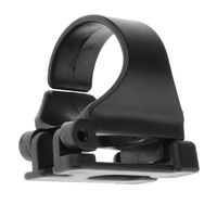 Universal Plastic Clip Snorkel Mask Keeper Holder Retainer For Scuba Diving and Snorkeling Black Plastic 25mm / 1\