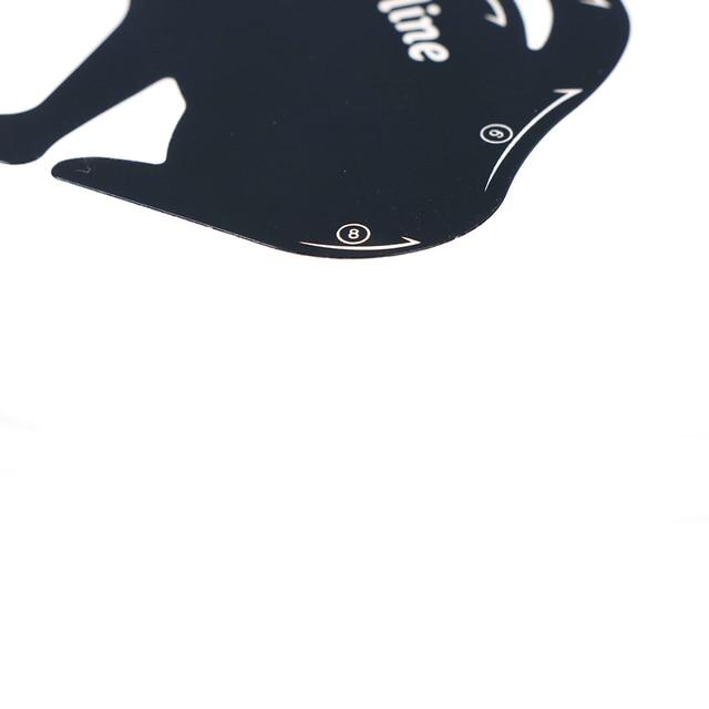 2pcs/set Cat Line Stencils Eye Makeup Eyeliner Eyeshadow Plastic Template Kit Eyebrow Model Fuctional Design Cosmetic Tool 2
