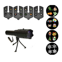 цены на Battery Powered Laser Projector Lamps LED Stage Light Heart Snow Spider Christmas Party Landscape Light Lamp Outdoor Lighting  в интернет-магазинах
