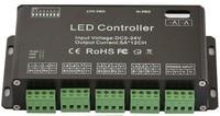 10pcs 12CH DC5V 24V RGB DMX 512 Decoder led controller, LED Rgb Constant Decoder& Driver for LED Strip Module Lamp 12Channel 5A