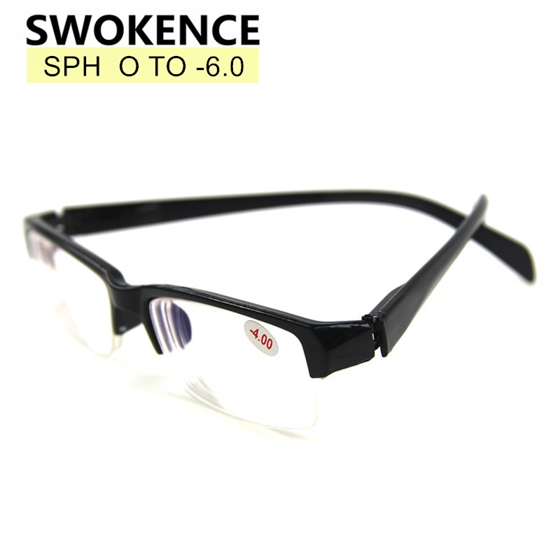 Finished Myopia Glasses SPH -1 -1.5 -2 -2.5 -3 -3.5 -4 -4.5 -5 -5.5 -6.0 Men Women Prescription Spectacles For Nearsighted G540