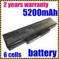 Batería del ordenador portátil para asus a32-n71 a32-k72 jigu k72d k72dr k72f k72 k73 k73e k73s k73sv n73sv 6 células