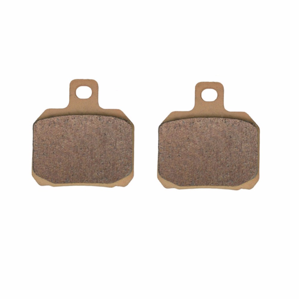 Motorcycle parts Sintered Copper FA266 Front Brake Pads For RIEJU Marathon Pro 50 Radial double piston