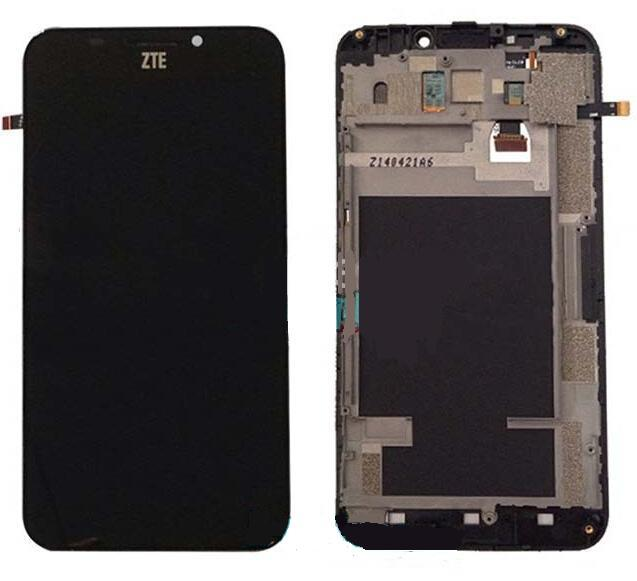 Original with frame For ZTE Grand S2 S251 S291 S252 S221 Touch Screen Digitizer LCD Display