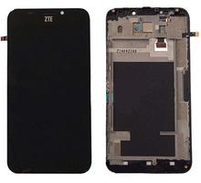 Original with frame For ZTE Grand S2 S251 S291 S252 S221 Touch Screen Digitizer+LCD Display assembly Repair parts