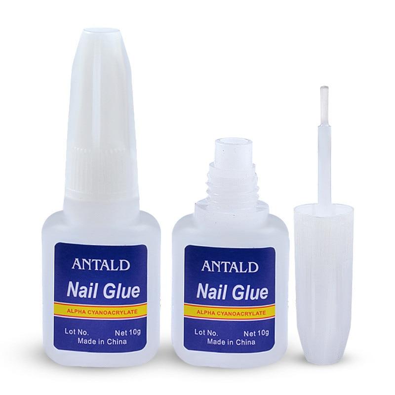 Image 2 - 10g Nail Glue False Fake Acrylic Rhinestone Beauty Gems Makeup UV Gel for Nail Decoration-in Nail Gel from Beauty & Health