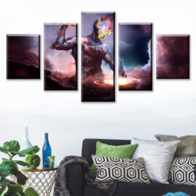 HD Print 5 Piece Artistic Canvas Art Poster Sci Fi Cartoon Paintings On Wall For Home Decorations Decor Framework