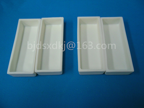 100*30*20 mm / 99.3% alumina crucible / Boat / corundum crucible / Al2O3 ceramic crucible / Sintered crucible цена