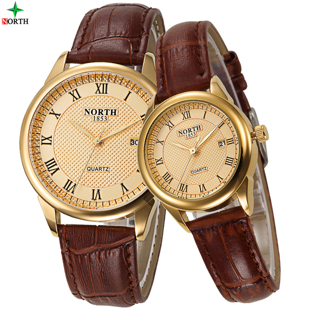 2016 Famous Brand Ladies Quartz Watch Men Women Couple Wrist Watch leathe Waterproof Reloj Hombre Fashion Casual Lovers' Watches