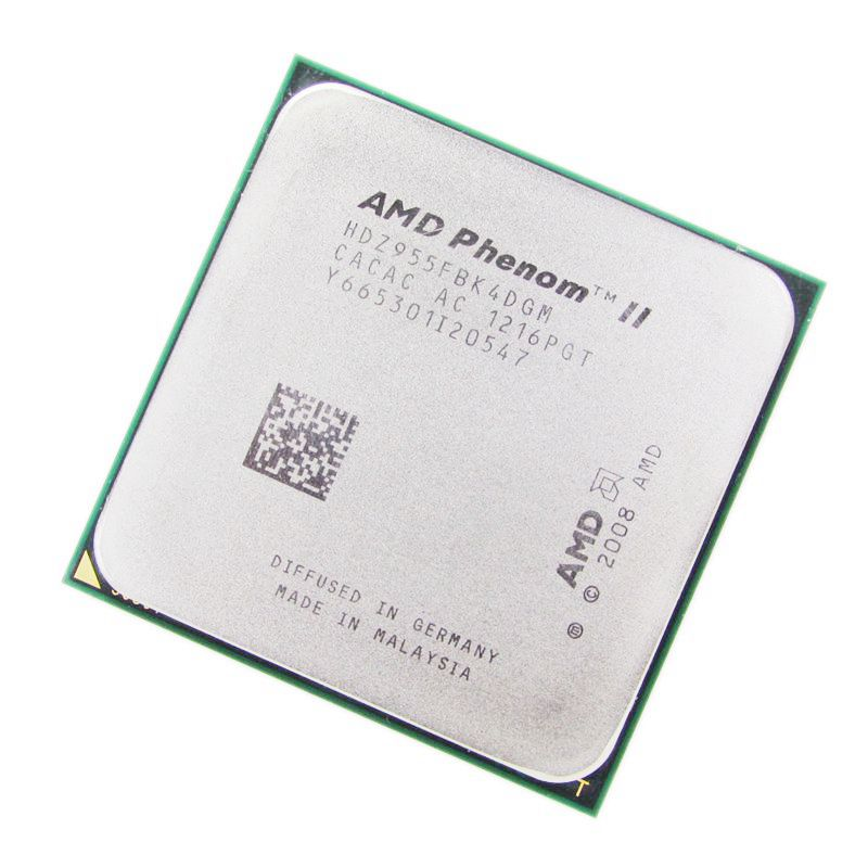 amd phenom ii x4 955 Processor Quad Core 3.2GHz 6MB L3 Cache Socket AM3 scattered pieces cpu-in CPUs from Computer & Office