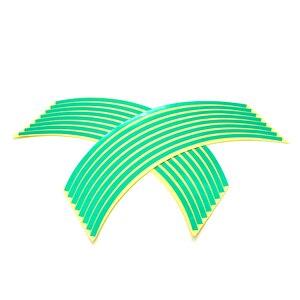 Image 4 - ملصقات ملونة للعجلة مقاس 17/18 بوصة ملصقات عاكسة للعجلة شريط حاشية لـ HODNA CB500 CB600 CB750 CB900 CB1000 CB1300