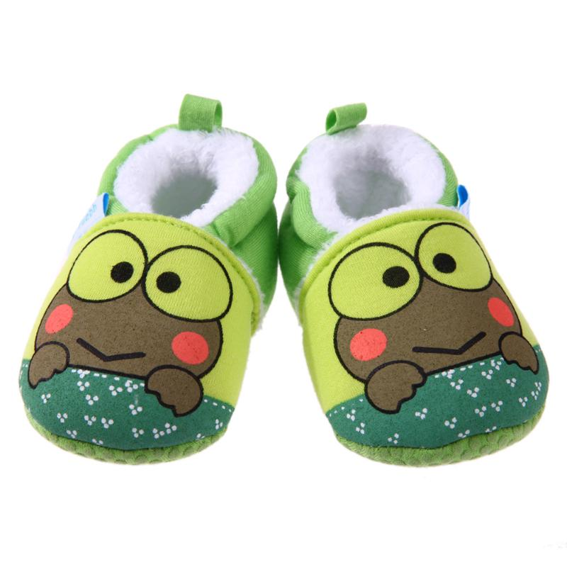 Baby Moccasins Shoes Winter Cartoon Animal Soft Baby Childrens Shoes Fashion Warm Shoes for Boys Girls Babies Footwear