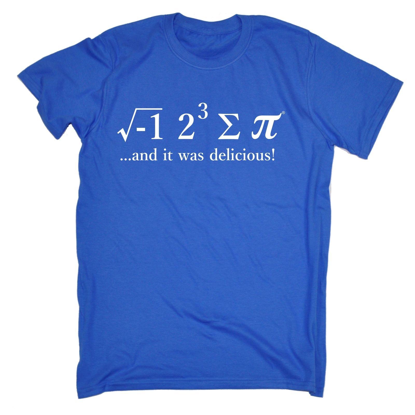 I 8 SUM Pi T-shirt torta matematica matematica matematica Geek Nerd Tee Regalo Di Compleanno Divertente