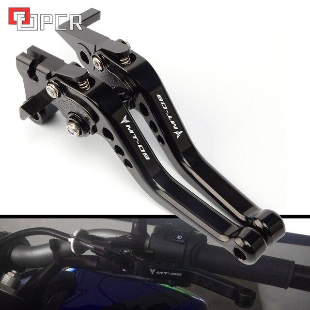 Alta Qualidade a Curto alavancas Para Yamaha mt09 MT07 FZ07 fz09 MT 07 09 2014-2018 2015 2016 CNC Ajustável alavancas de freio de Embreagem