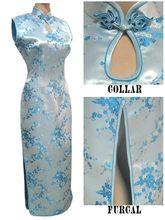 New Arrival Vintage Red Lady Satin Cheongsam Chinese Classic Dripping Long Qipao Bridal Wedding Dress S M L XL XXL XXXL S033-F