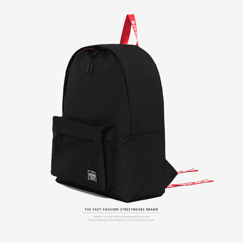 INFLATION Backpack School Bag For Teenagers Harajuku New Fashion College Casual Fashion Travel Bag Ulzzang Laptop Bag 174AI2018