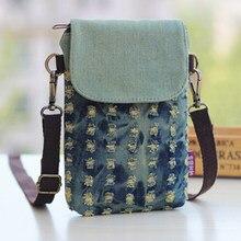 aa7a351fedef New Cute Mini Women Small Bags Denim Pouch Clutch Crossbody Girl Children Shoulder  Messenger Phone Bag