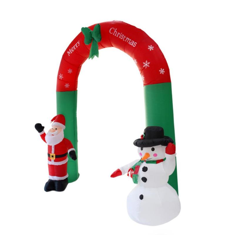 2.4M Inflatable Arch Ornament For Home office Shop New Year Party Atmosphere Decoration Festival Supplies EU Plug Pakistan