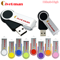 Origianl Civetman Pendrive USB 2.0 de Alta Velocidade 16 GB USB Flash Drive Metal 8 GB Flash Drive Capacidade Real 4 GB USB Flash Pen Drive
