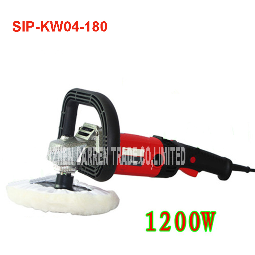 1200 w waxing machine polishing machine / floor polisher electric polisher power tools SIP-KW04-180 600-3700r/min