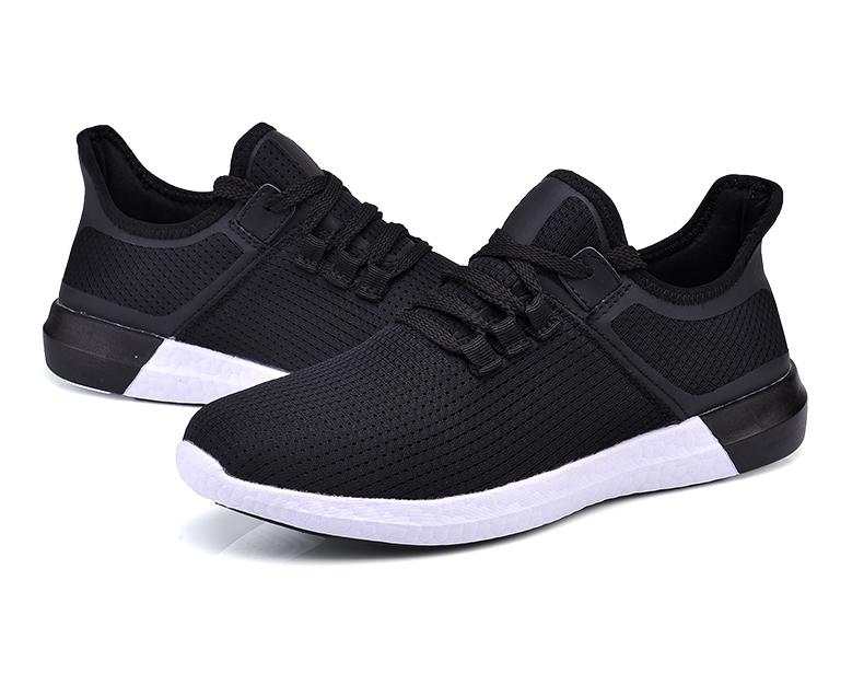 UNN Unisex Running Shoes Men New Style Breathable Mesh Sneakers Men Light Sport Outdoor Women Shoes Black Size EU 35-44 37