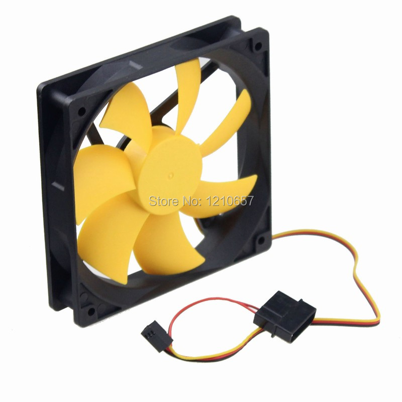10Pieces lot PC Computer Case Cooling Fan Cooler 12V 3Pin 4Pin 120mm 120x120 x25mm Hydraulic new 3u ultra short computer case 380mm large panel big power supply ultra short 3u computer case server computer case