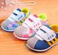 2017 nuevas marcas de la zapatilla de deporte 13-15 cm del bebé shoes primer paso boy/girl shoes infantil/recién nacido shoes shoes calzado antideslizante de los niños