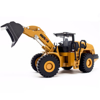 1:50 Wheel Bulldozer Car Alloy Truck Toys Construction Vehicle Model Kid Boy Toys Gift Collection