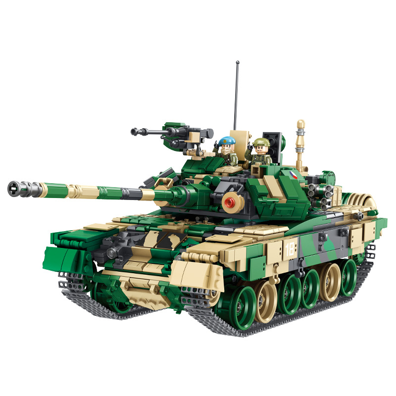 Ww2 Military War Weapon M60 Main Battle Tank Building Blocks Sets Models Educational Toys For Kids Gifts Compatible With Legoed Special Buy Model Building