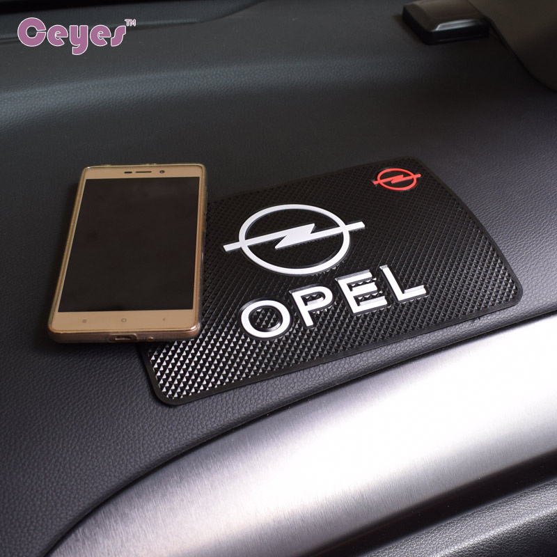 CEYES Car Styling Interior Mat Case For Opel Astra H G J Insignia Mokka Zafira Corsa Vectra C D Antara Car Styling Anti Slip Mat
