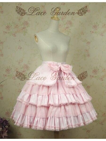 Lolita Sweet Sweet Lolita Corta Corta Falda Sweet Pink Falda Corta Lolita Pink Pink Pink Falda fxC77BTwq