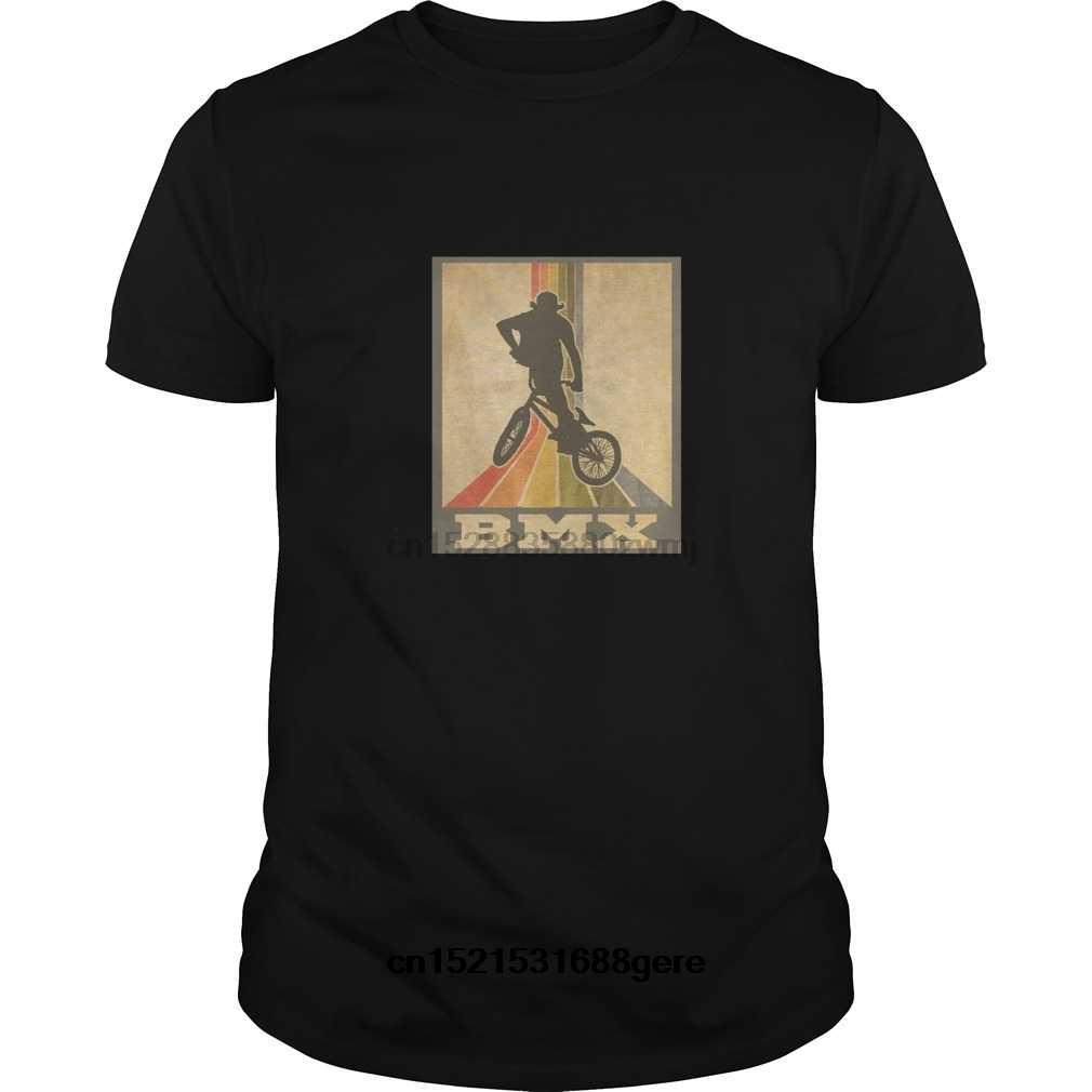 Фото Забавная футболка BMX винтажная и ретро стильная Rider Футболка мужская