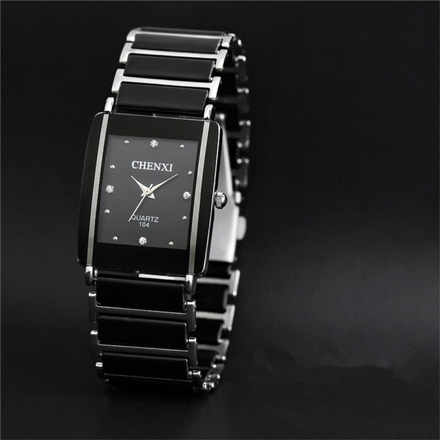 2017 NEW Luxury Women Lovers Watches Fashion Men Quartz Steel Watch Couple Wrist Watches