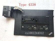 Die original dock für Lenovo ThinkPad Mini Dock Serie 3 mit USB3.0 FRU SD20E75707 04Y2072 04X4683 Typ 4337 /4338 W/O adapter