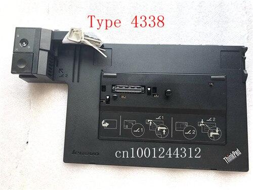 Le dock d'origine pour Lenovo ThinkPad Mini Dock série 3 avec USB3.0 FRU SD20E75707 04Y2072 04X4683 Type 4337/4338 sans adaptateur